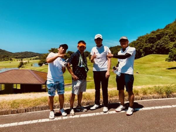 ゴルフデビュー戦写真
